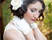 Свадебные прически на короткие волосы, фото 6