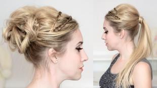 Греческие прически на длинные волосы, греческая прическа на длинные волосы