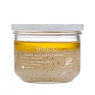 Кокосовый скраб, thalgo exotic island body scrub (объем 270 г)