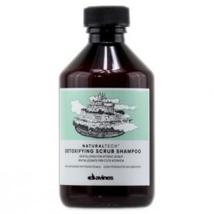 Скраб-шампунь для кожи головы, davines detoxifying scrub shampoo - детоксирующий шампунь-скраб