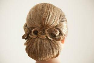 Прически в стиле 50 х годов на длинные волосы, свадебные прически на длинные волосы