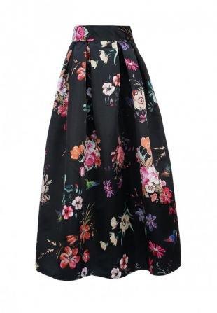 Черные юбки, юбка aurora firenze, осень-зима 2016/2017
