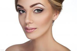 Свадебный макияж для маленьких глаз, макияж с красивыми стрелками
