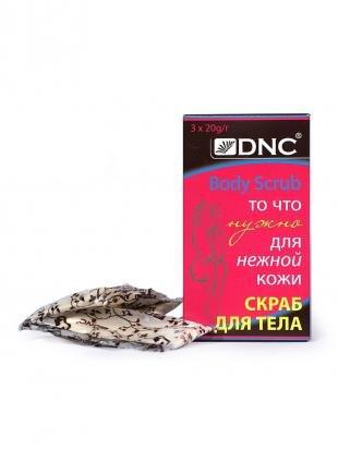 Скраб для сухой кожи лица, dnc скраб для тела (для нежной кожи) , 60 гр
