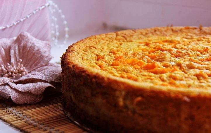 Правильное питание - морковная запеканка с творогом