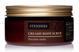 """Сухой скраб для тела, stenders скраб для тела кремовый """"шоколадно-ванильный"""", 200 г"""