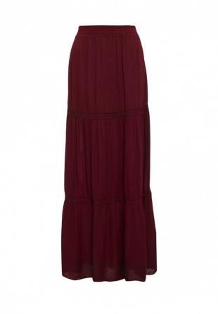Бордовые юбки, юбка jennyfer, весна-лето 2016