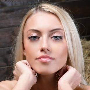Макияж для голубых глаз, повседневный макияж для выпуклых глаз