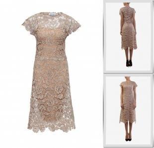 Бежевые платья, платье voielle,