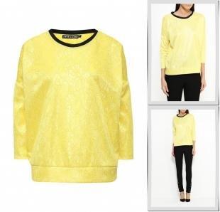 Желтые блузки, блуза love & light, осень-зима 2016/2017