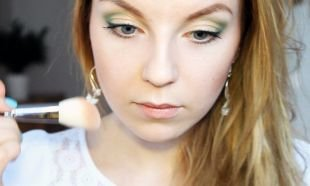 Макияж для увеличения глаз, легкий весенний макияж