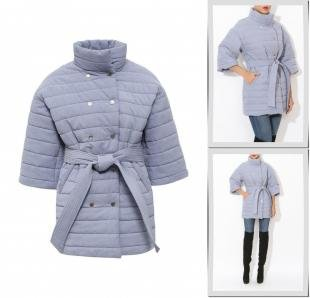 Голубые куртки, куртка утепленная tutto bene, осень-зима 2016/2017
