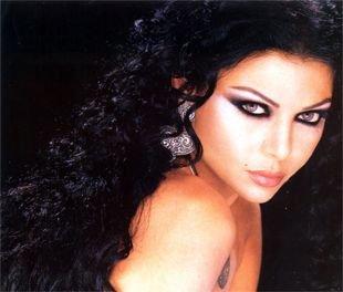 Макияж для брюнеток с серыми глазами, вечерний яркий макияж в арабском стиле