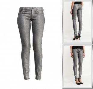 Серебряные джинсы, джинсы gas, весна-лето 2016