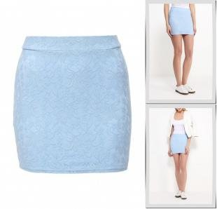 Голубые юбки, юбка alcott, весна-лето 2016