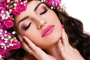Летний макияж для карих глаз, весенний макияж для фотосессии