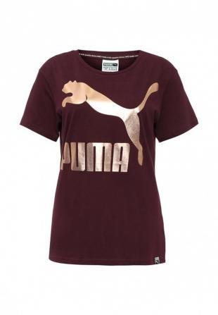 Бордовые футболки, футболка puma, осень-зима 2016/2017