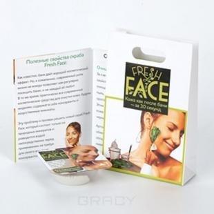Скраб Fresh Face, скраб fresh face для нормальной и жирной кожи, в промоупаковке пробник, 3 г