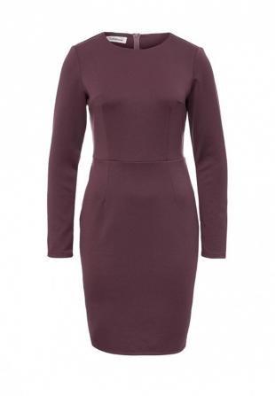 Фиолетовые платья, платье tutto bene, осень-зима 2016/2017