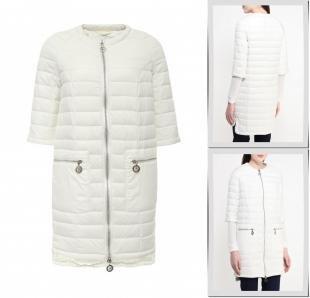 Белые куртки, куртка утепленная odri, весна-лето 2016