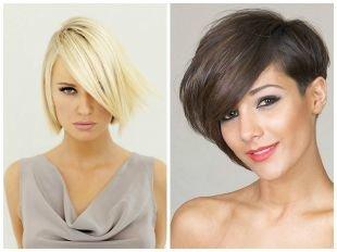 Стрижки и прически для тонких волос на короткие волосы, модные стрижки и прически для тонких волос