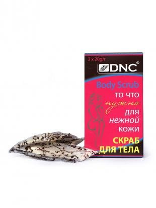 Скраб для сухой кожи тела, dnc скраб для тела (для нежной кожи) , 60 гр