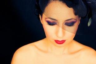 Вечерний макияж, макияж в стиле чикаго 30-х годов