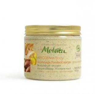 Скраб из меда, мелвита скраб для тела питательный апикосма 150г