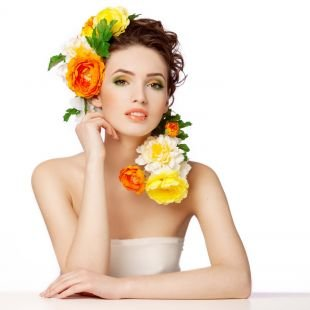 Летний макияж для карих глаз, весенний макияж для карих глаз