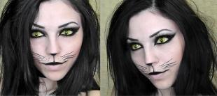 Макияж кошки на хэллоуин, макияж кошки на хэллоуин